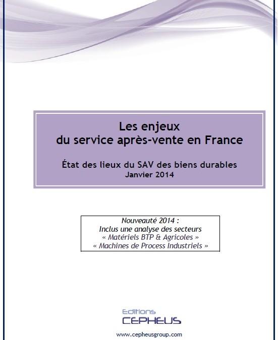Nouveau livre : Les enjeux du SAV en France